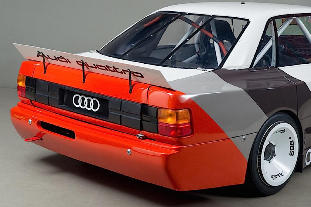 Audi 200 Trans-Am, Quattro pistarde 2