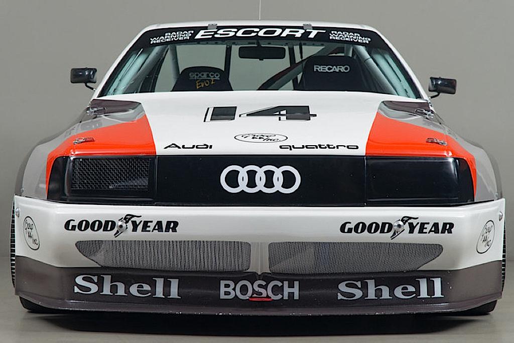Audi 200 Trans-Am, Quattro pistarde 1