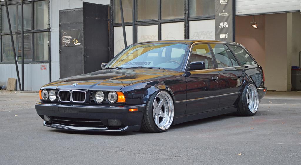 DLEDMV - BMW E34 Touring Slammed - 17