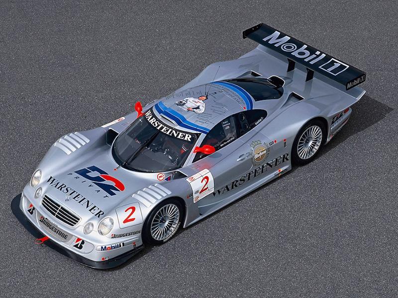 DLEDMV - Mercedes CLK GTR #1 -11