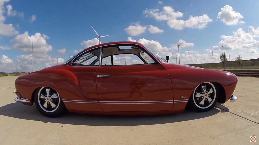 DLEDMV Red Karmann Ghia airride 02