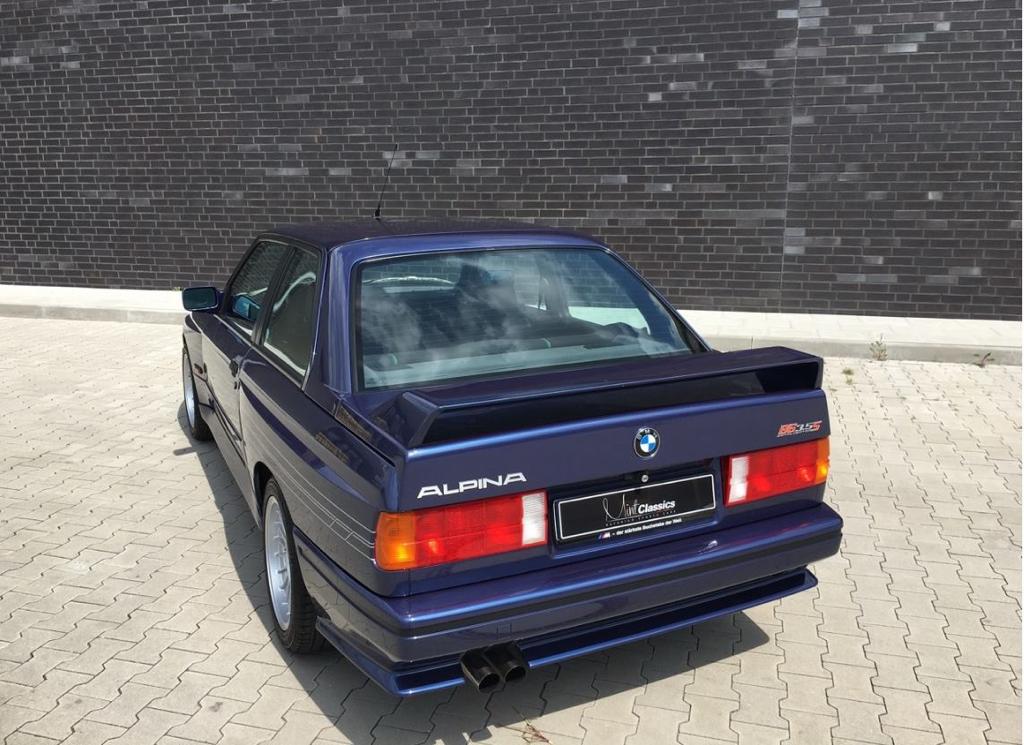 Alpina B6 3.5S... La M3 E30 revue par Buchloe ! 13