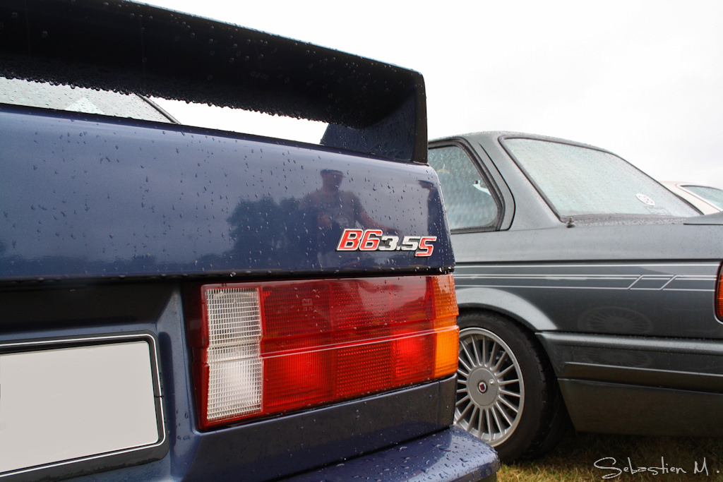 Alpina B6 3.5S... La M3 E30 revue par Buchloe ! 28