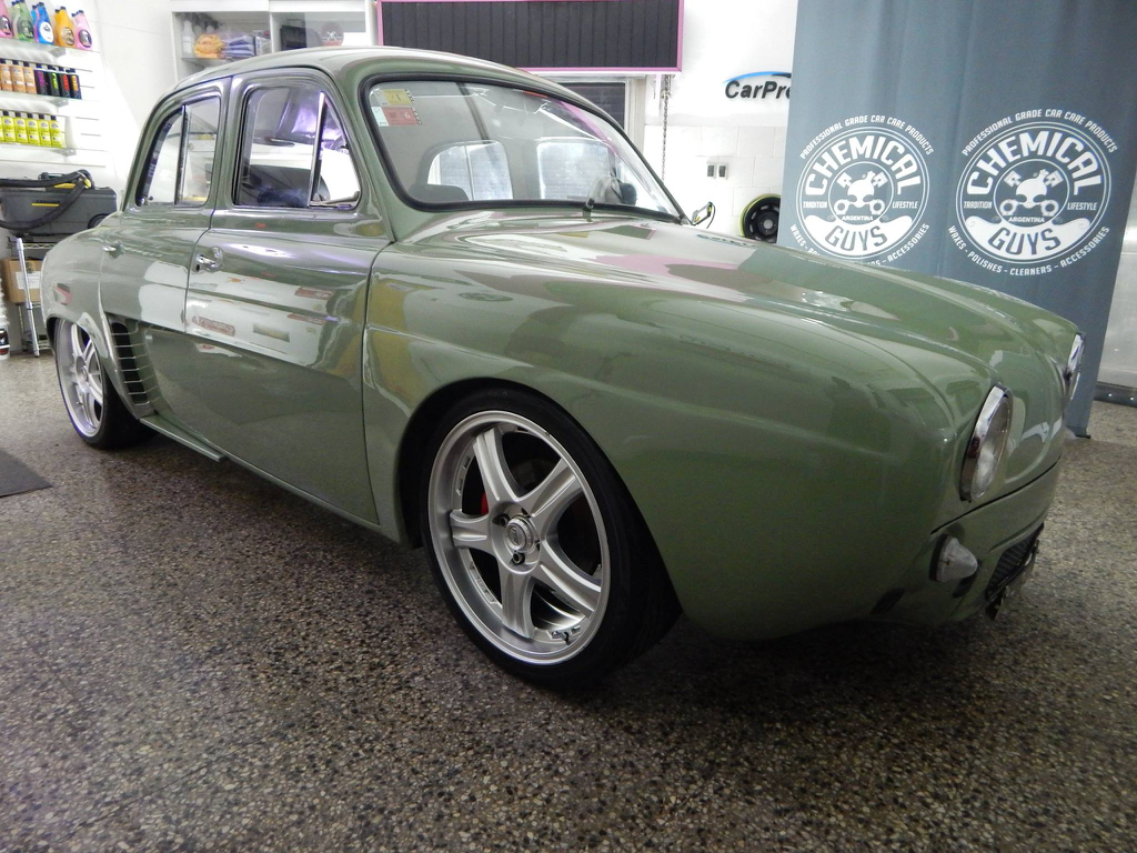 Renault Dauphine ou plutôt IKA Gordini Turbo... Ay Caramba ! 9