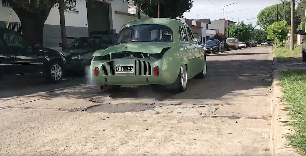 Renault Dauphine ou plutôt IKA Gordini Turbo... Ay Caramba ! 8