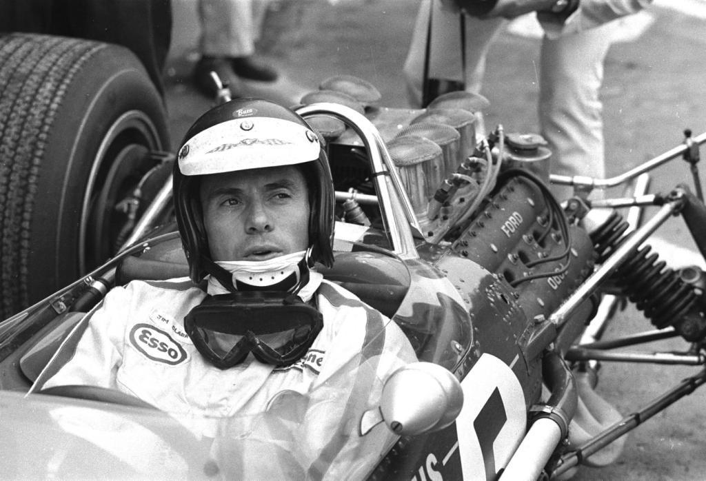 Jim Clark : Drift en Cortina Lotus 6