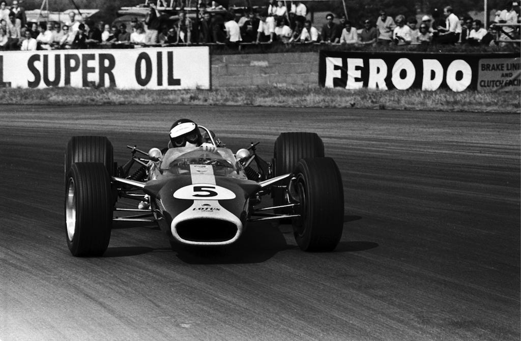 Jim Clark : Drift en Cortina Lotus 8