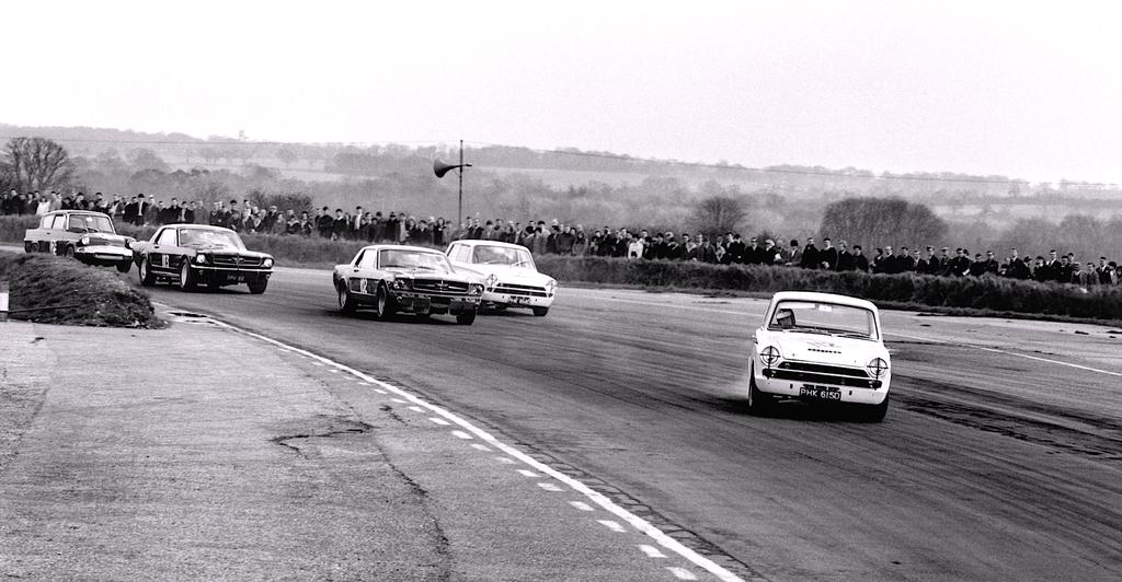 Jim Clark : Drift en Cortina Lotus 5