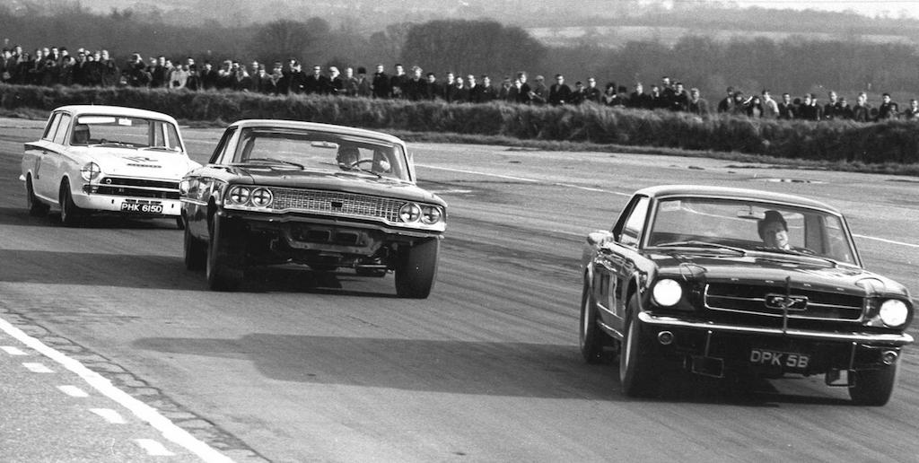 Jim Clark : Drift en Cortina Lotus 4