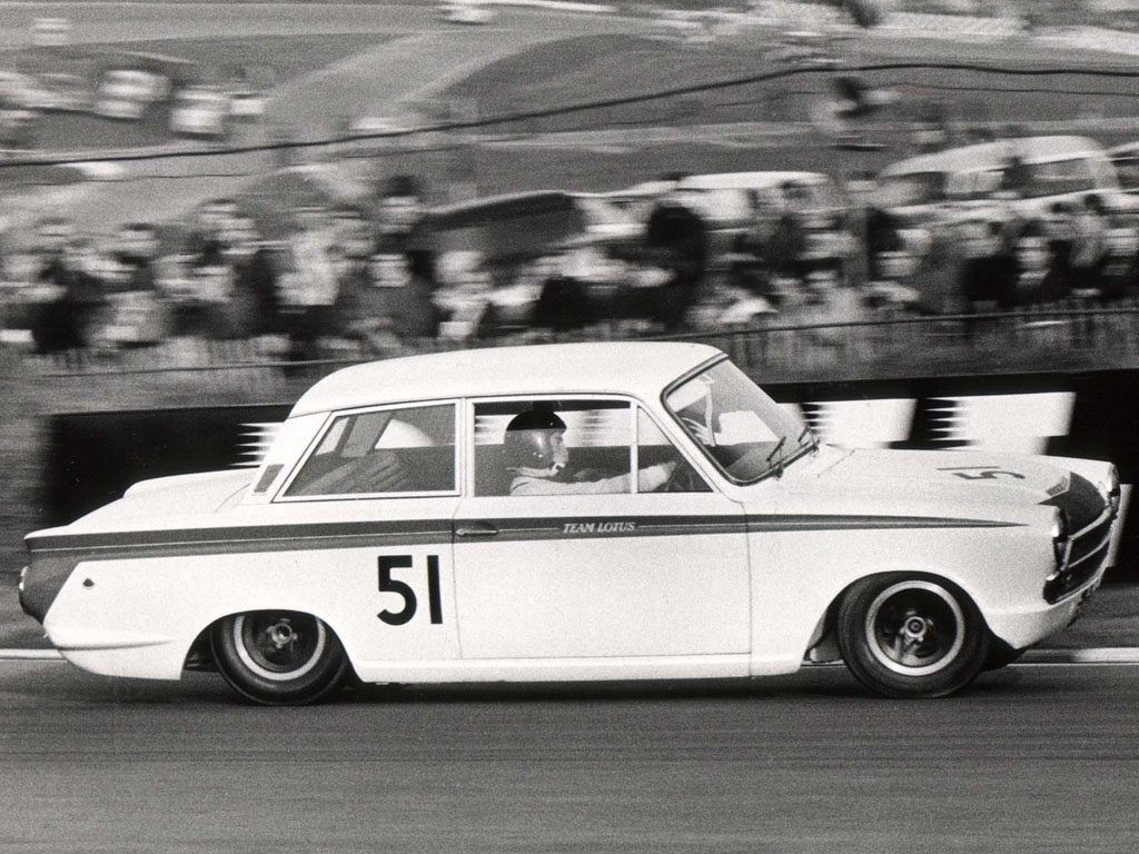 Jim Clark : Drift en Cortina Lotus 2