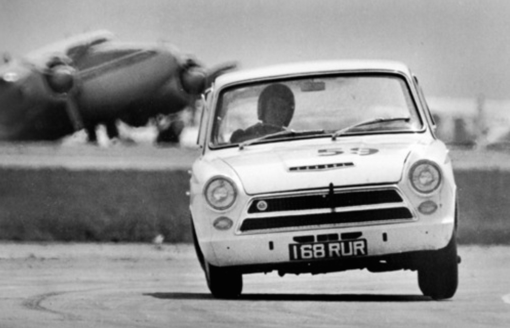 Jim Clark : Drift en Cortina Lotus 1