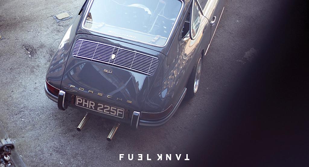 '68 Porsche 911 T Custom... London Outlaw ! 11