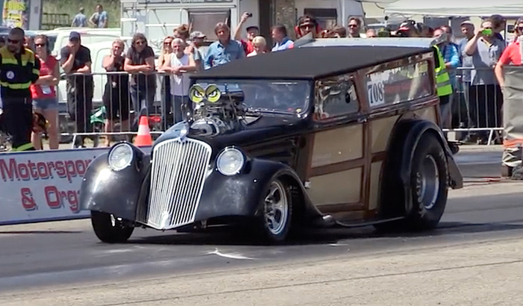 '34 Willys Woody Wagon... Avec 1000 ch dans les cannes ! 4