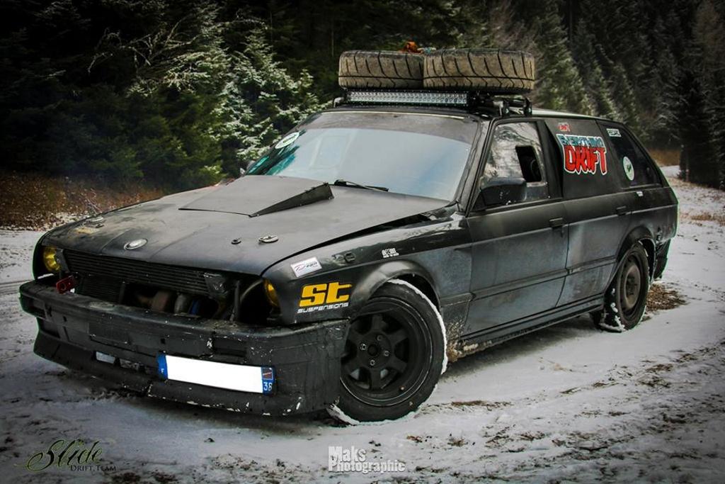 Drift in Snow 2K17 - Vin chaud et pneu cramé ! 2