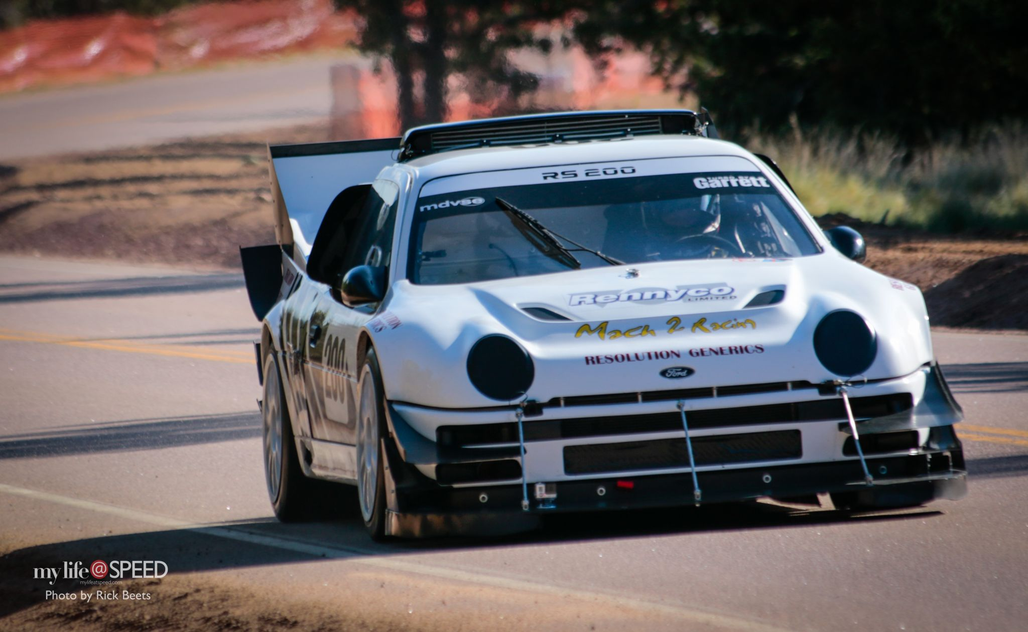 HillClimb Monsters - Ford RS200 Pikes Peak 6