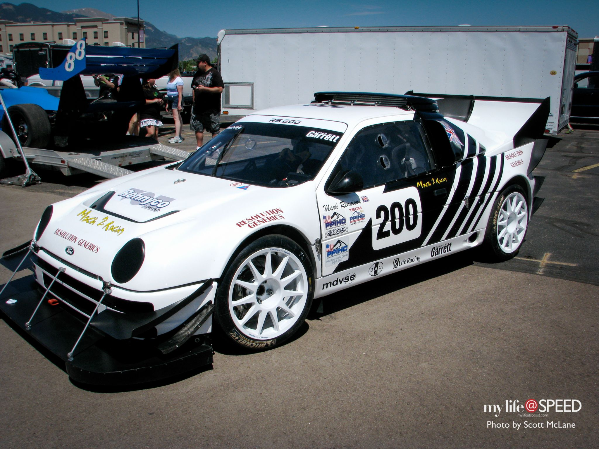 HillClimb Monsters - Ford RS200 Pikes Peak 5
