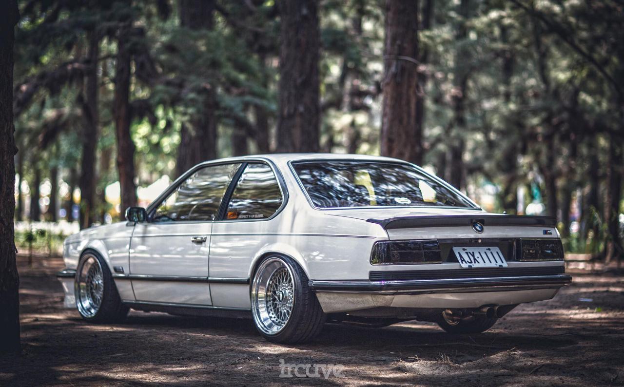 BMW E24... Le requin se chausse chez BBS ! 31