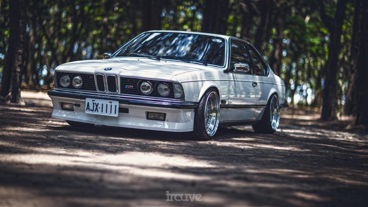 BMW E24... Le requin se chausse chez BBS ! 30