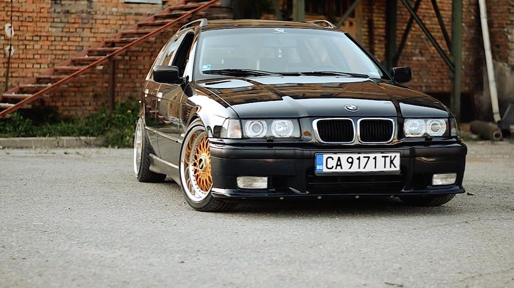 """BMW 328i E36... """"The stanced touring"""" ! 12"""
