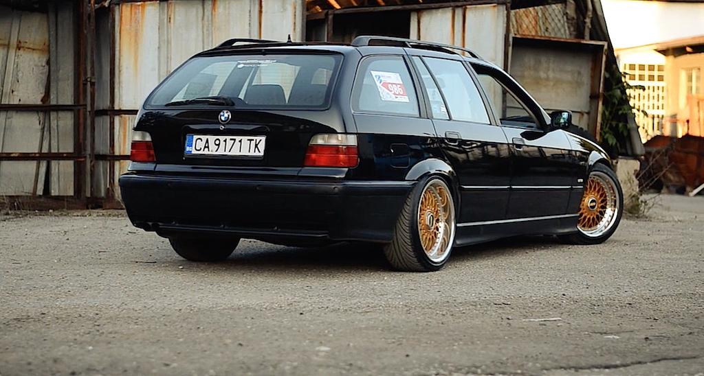 """BMW 328i E36... """"The stanced touring"""" ! 11"""