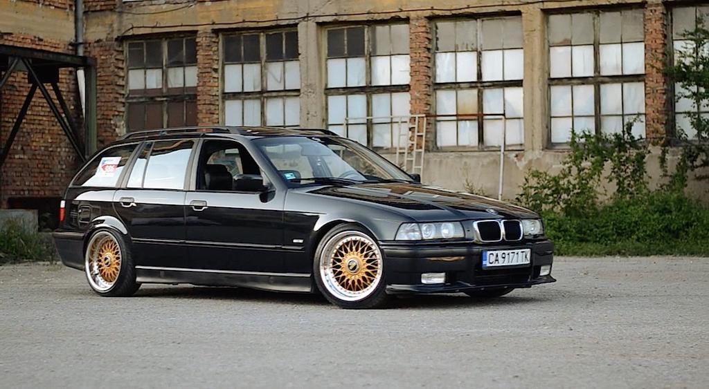 """BMW 328i E36... """"The stanced touring"""" ! 10"""