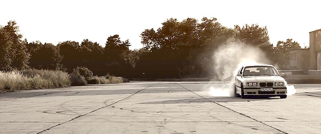 Supercharged BMW M3 E36... Fumeuse de pneus ! 3