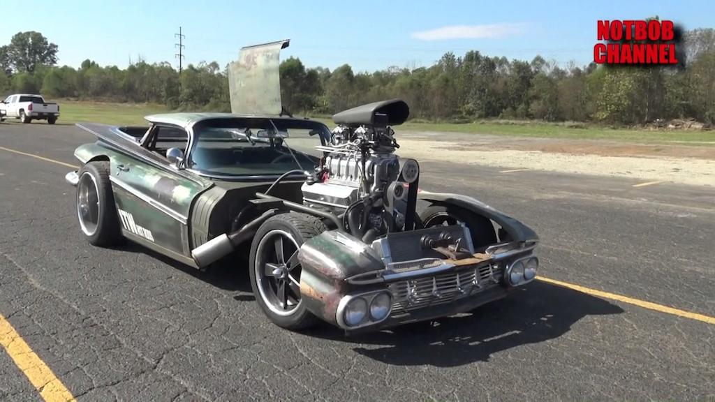 "Chevy Camino Blow Custom Rat Rod... ""Hulk Camino"" ! 1"