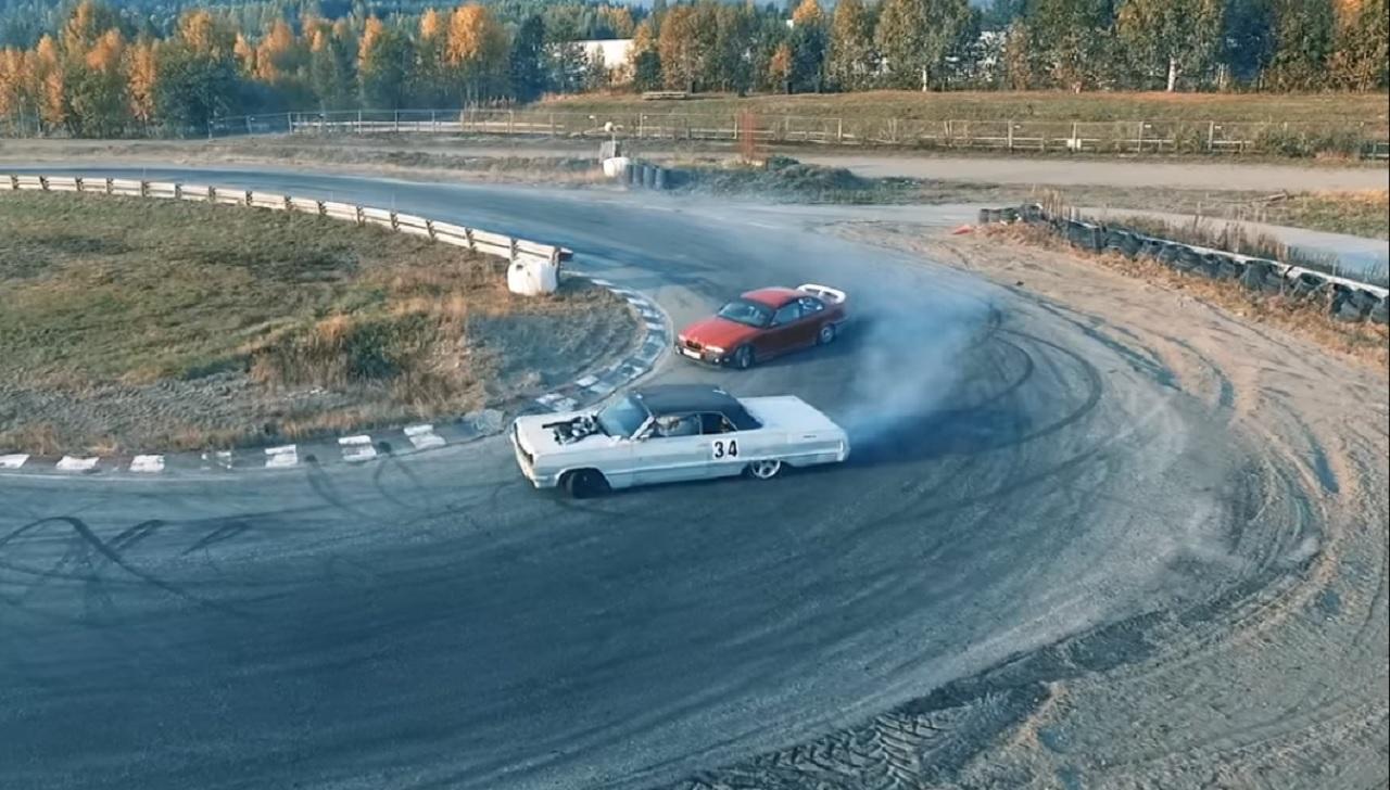 Chevy Impala '64 - Drifteuse Improbable ! 7