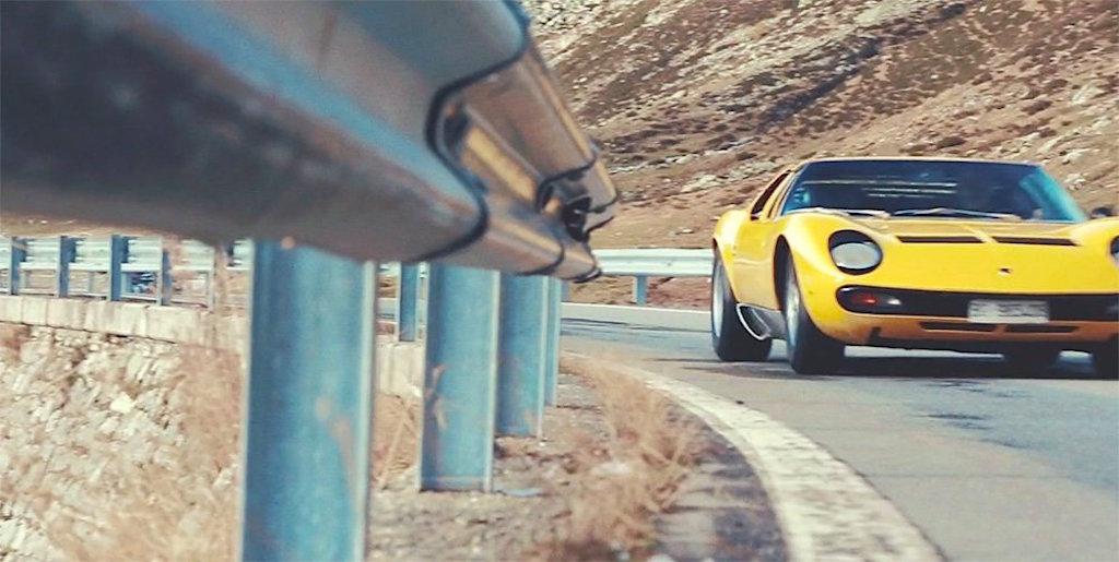 Italian road trip en Lamborghini Miura SV - Un p'tit café ?! 8