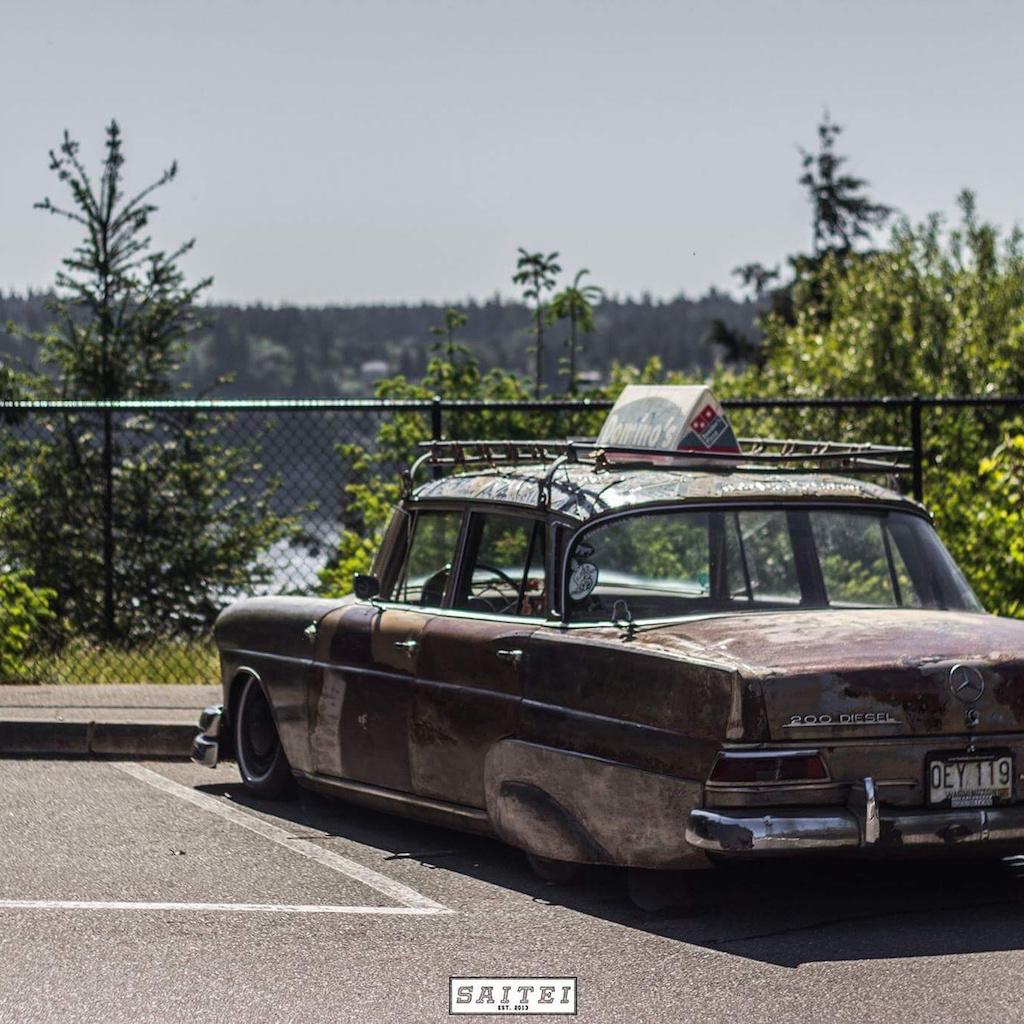 """'67 Static Mercedes 200d """"Hardtail Sally"""" - Où est passé l'antirouille ?! 8"""