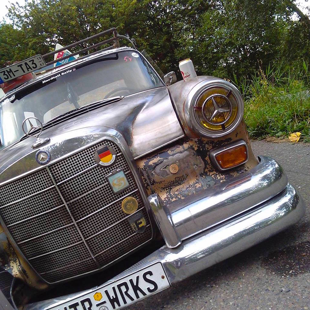 """'67 Static Mercedes 200d """"Hardtail Sally"""" - Où est passé l'antirouille ?! 7"""