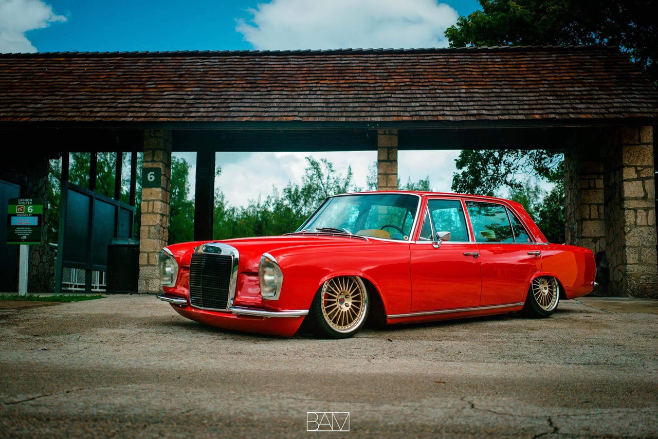 Red Bagged Benz W108... Mélange des genres ! 19