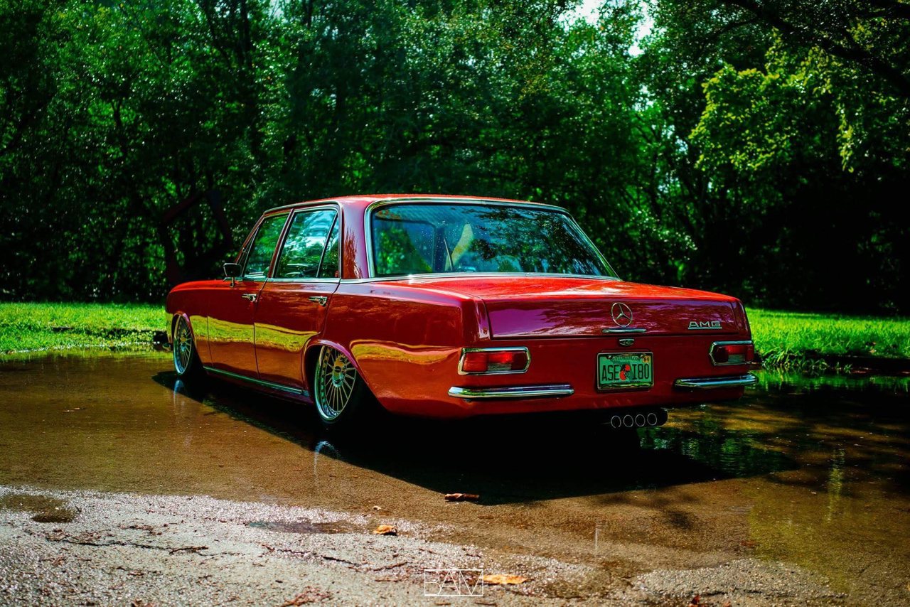 Red Bagged Benz W108... Mélange des genres ! 22