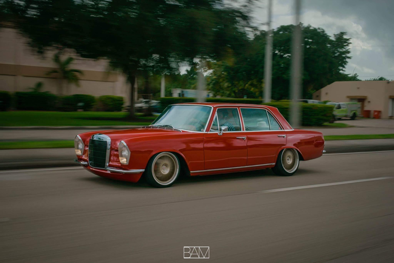 Red Bagged Benz W108... Mélange des genres ! 23