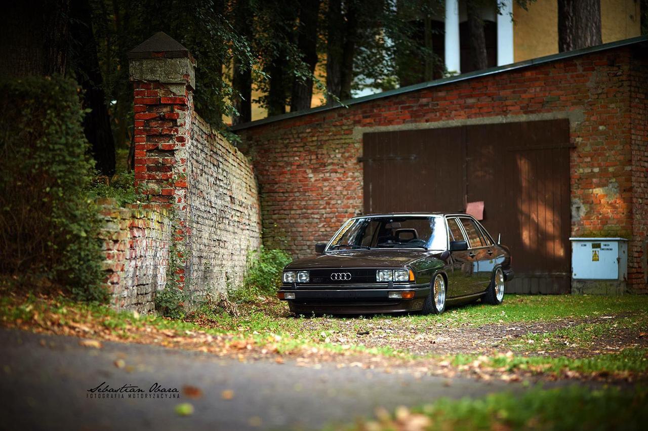 Slammed Audi 200 5T - En coussin d'air sur du BBS ! 44