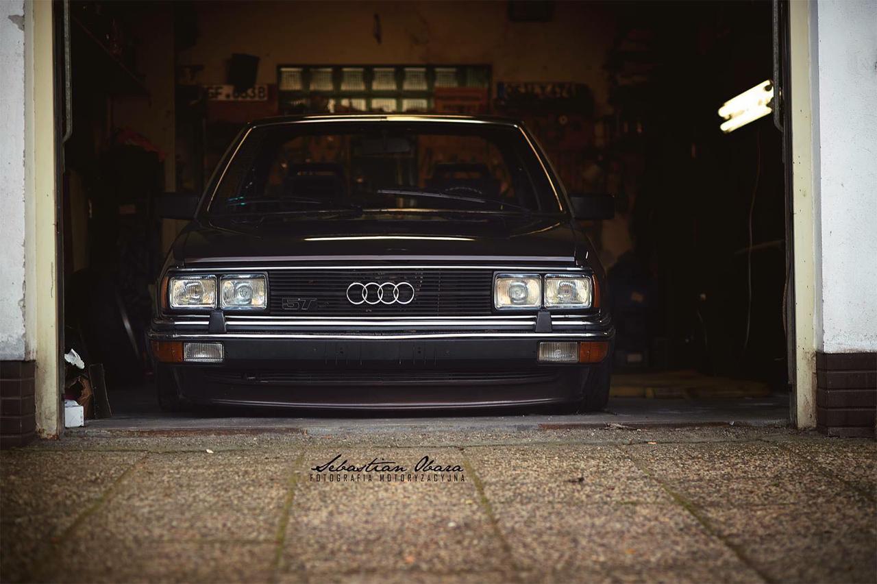 Slammed Audi 200 5T - En coussin d'air sur du BBS ! 27