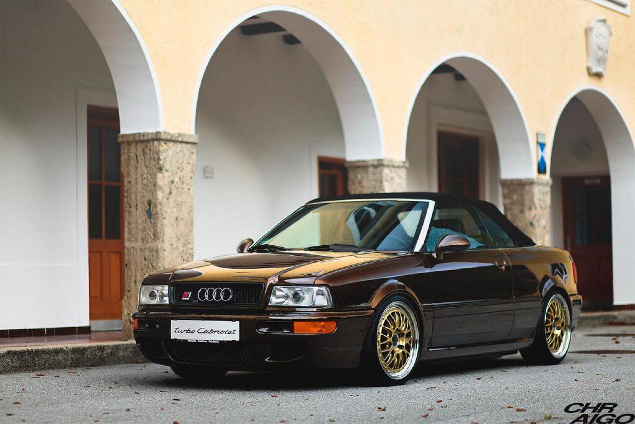 Audi 80 Cab... RS2 ! Sortez couverts... 21