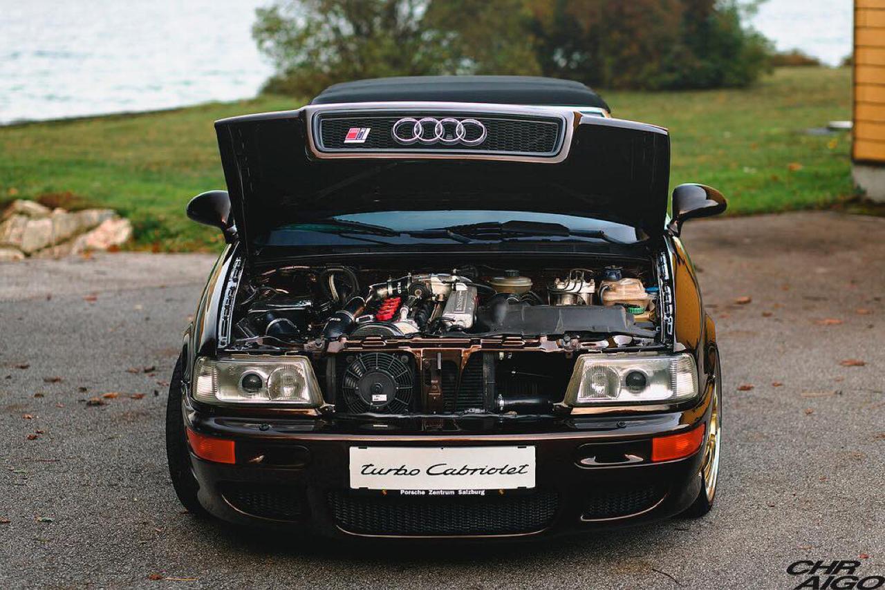 Audi 80 Cab... RS2 ! Sortez couverts... 38