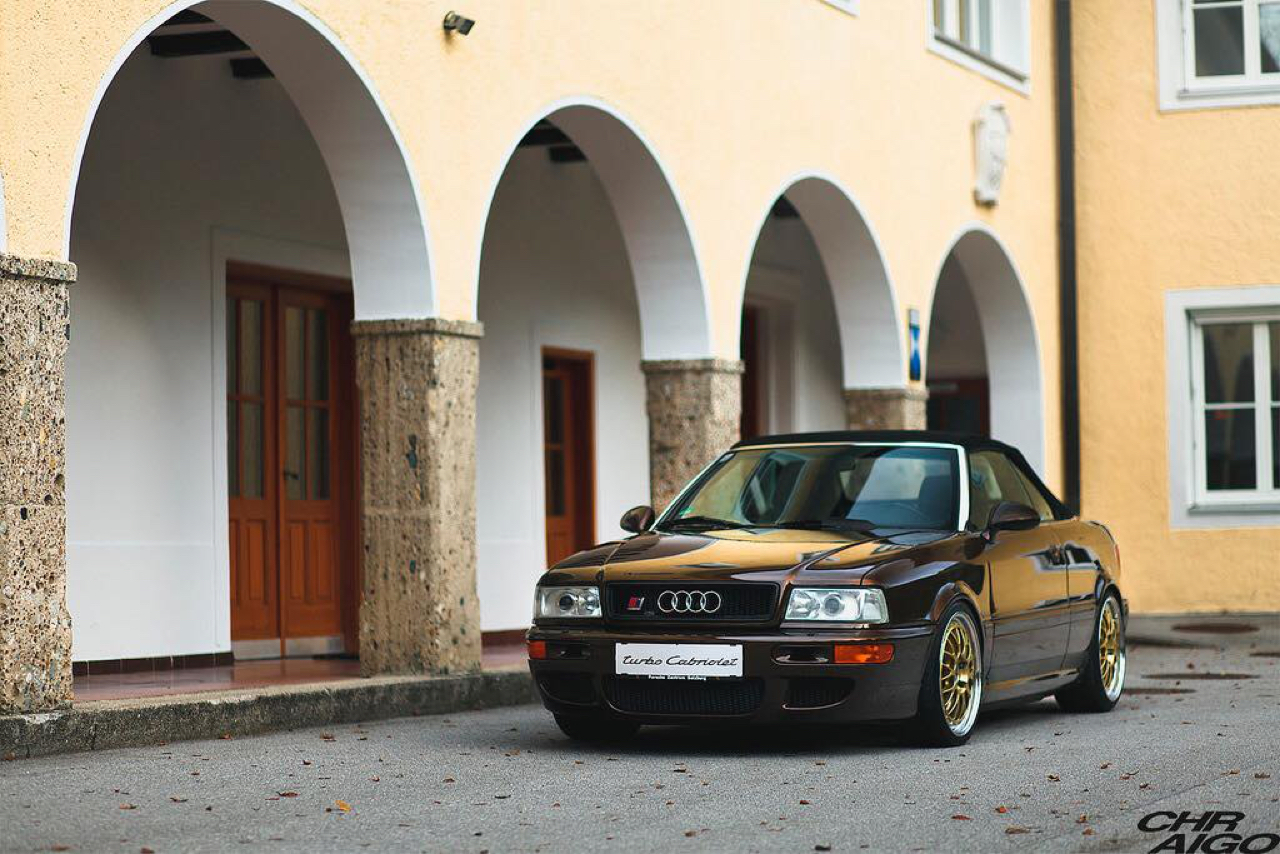 Audi 80 Cab... RS2 ! Sortez couverts... 32