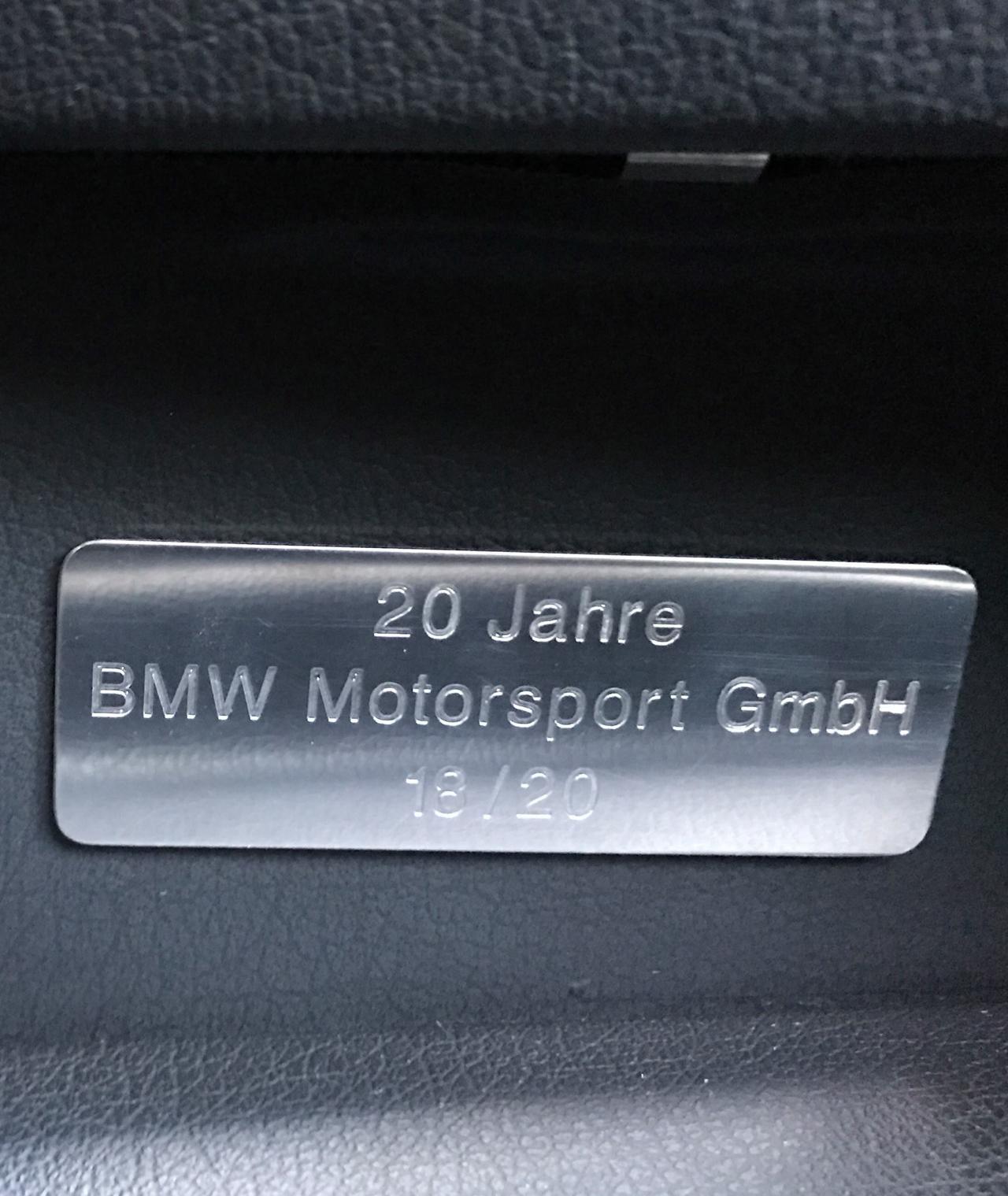 BMW M5 20 Jahre - La plus rare, la plus désirable ?! 66