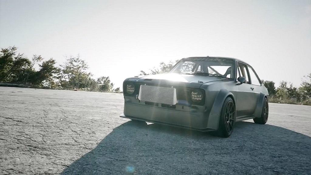 """Hillclimb Monsters - Ford Escort Mk2 """"Insérez ici vos clichés sur les Grecs"""" 9"""