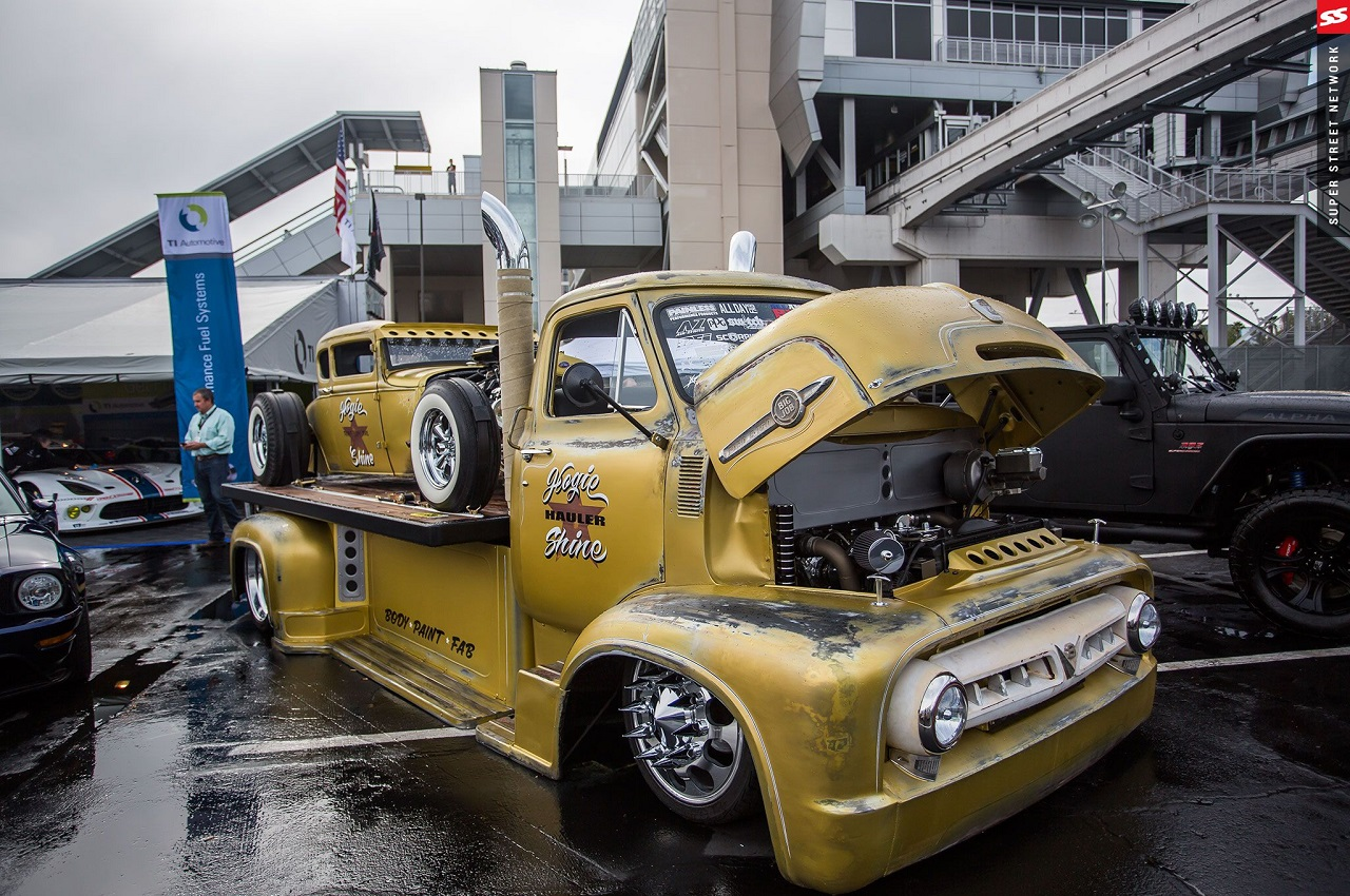 """Hogie Shine"" - Rat Rod + Rat Truck = La classe à Dallas ! 34"