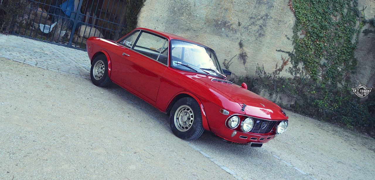 Lancia Fulvia HF Fanalone - Belissima leggenda ! 90