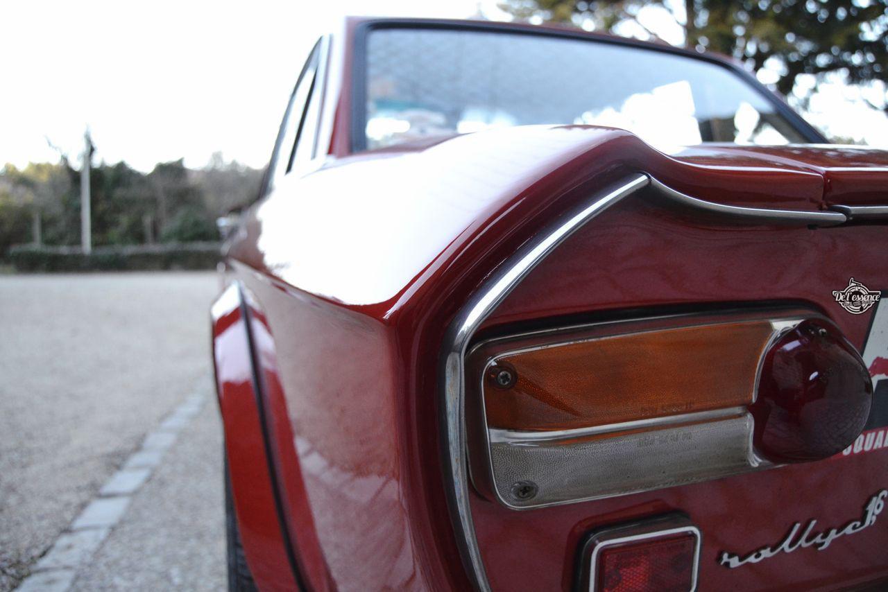 Lancia Fulvia HF Fanalone - Belissima leggenda ! 120
