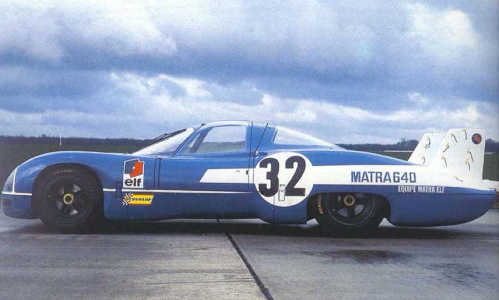 Engine sound : Matra MS de la 630 à la 670... Un V12 dans les Hunaudières ! 67
