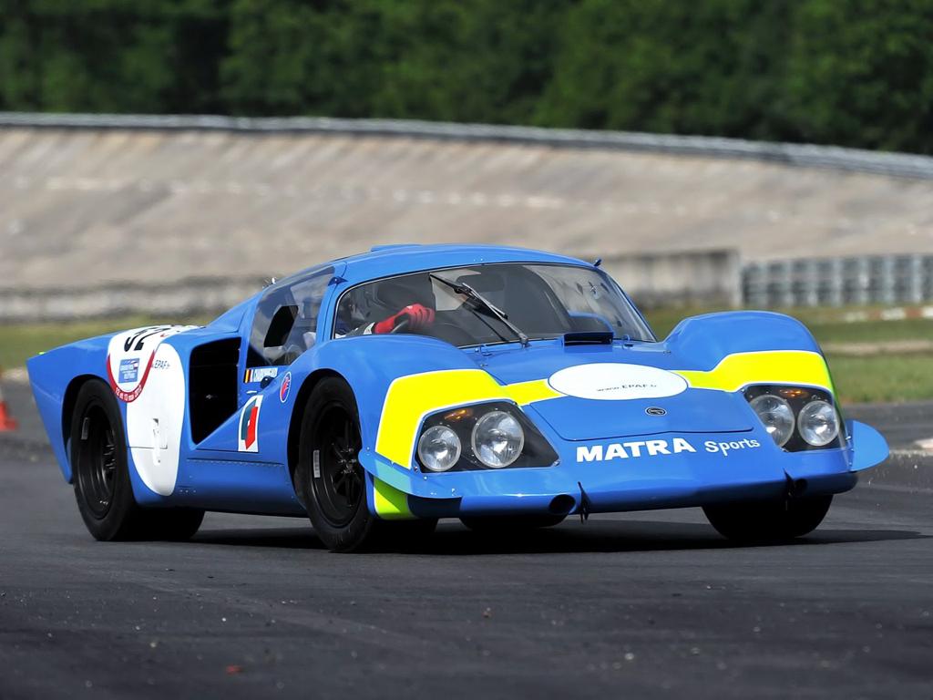 Engine sound : Matra MS de la 630 à la 670... Un V12 dans les Hunaudières ! 70