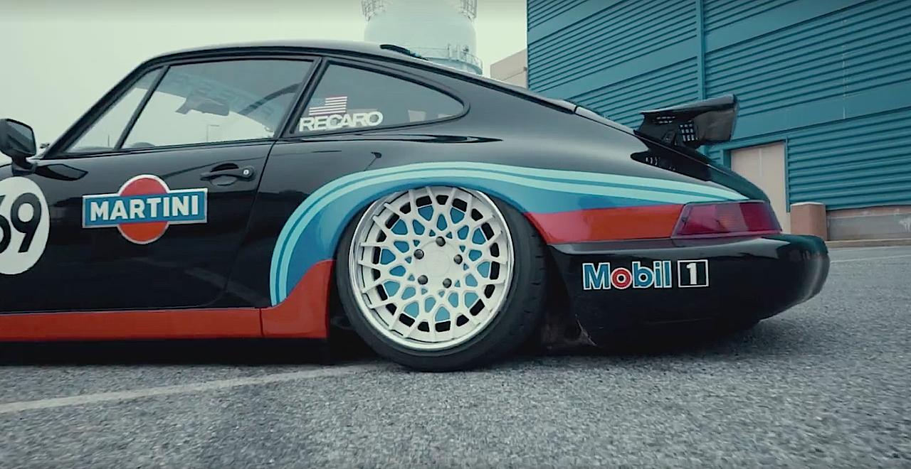 Porsche 964 Air Lift Performance - Scotché ! 44