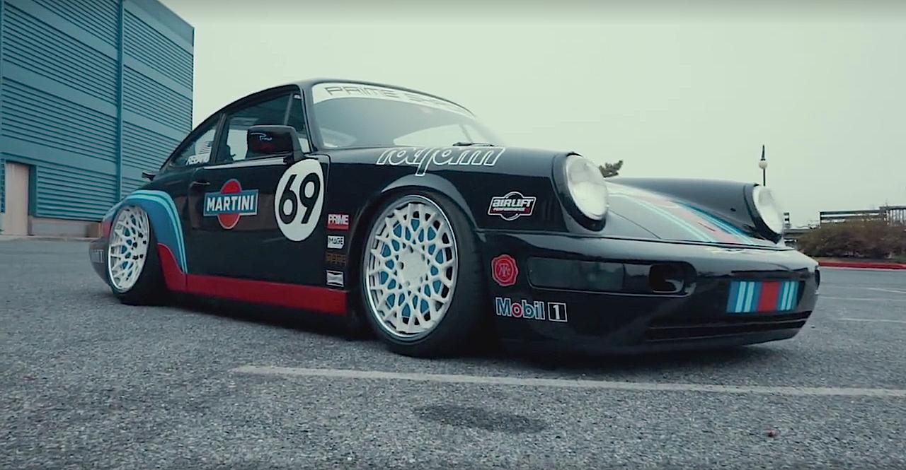 Porsche 964 Air Lift Performance - Scotché ! 43
