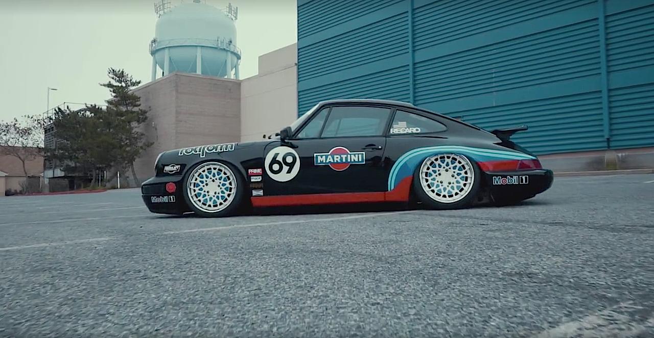 Porsche 964 Air Lift Performance - Scotché ! 36