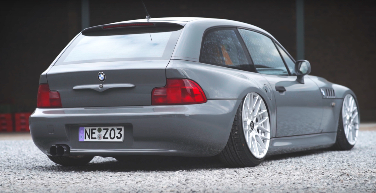 Bagged Bmw Z3 Coup 233 On Off De L Essence Dans Mes Veines